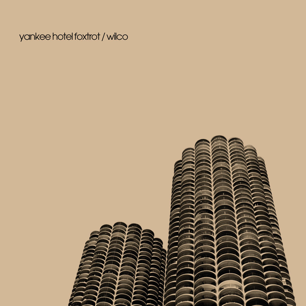 "Album cover for Wilco's ""Yankee Hotel Foxtrot"""