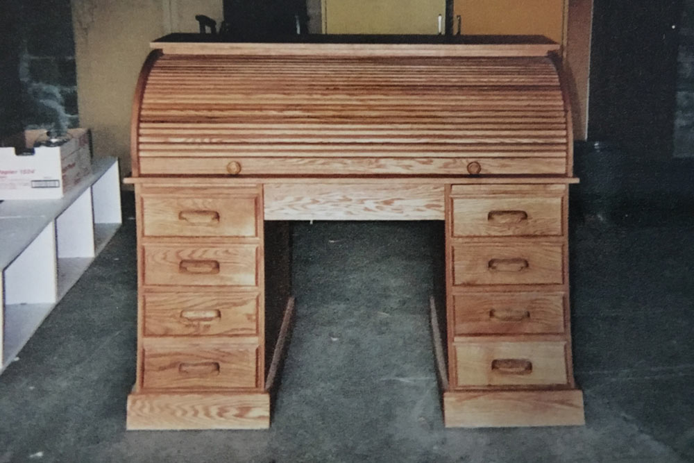 Kate's Rolltop desk