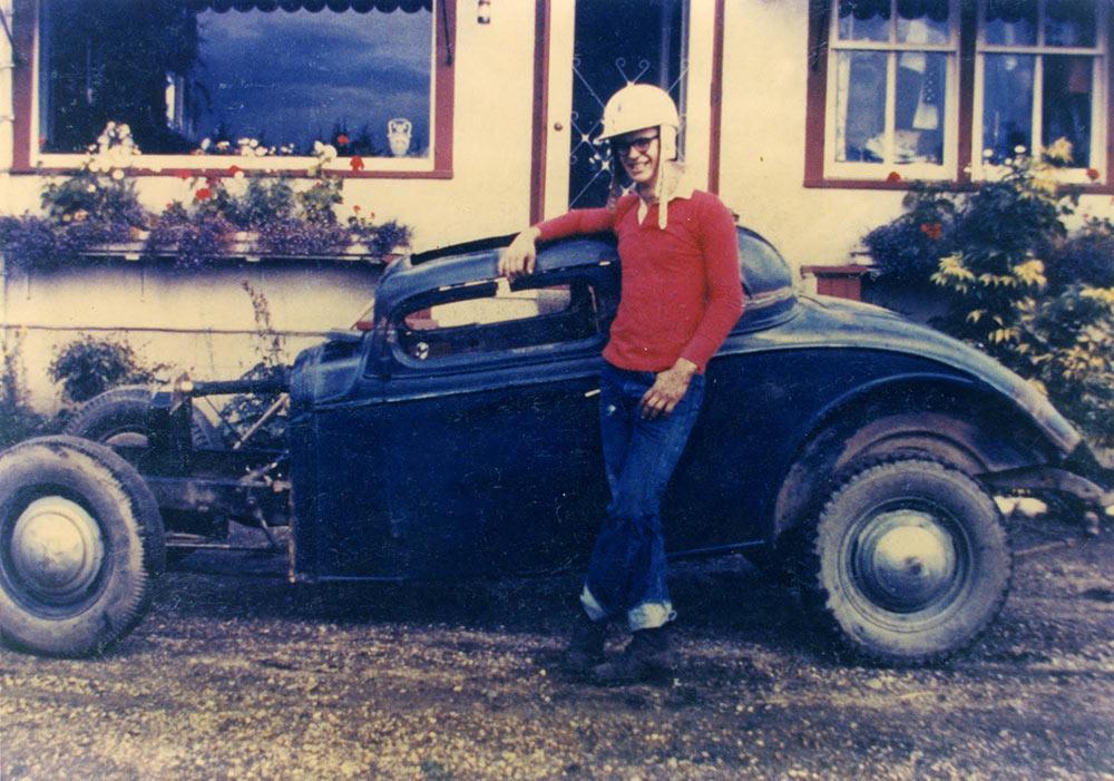 1955 1st car: 34 Chevy hot rod Canada