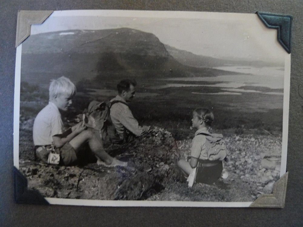 1946 Lapland mountains hiking