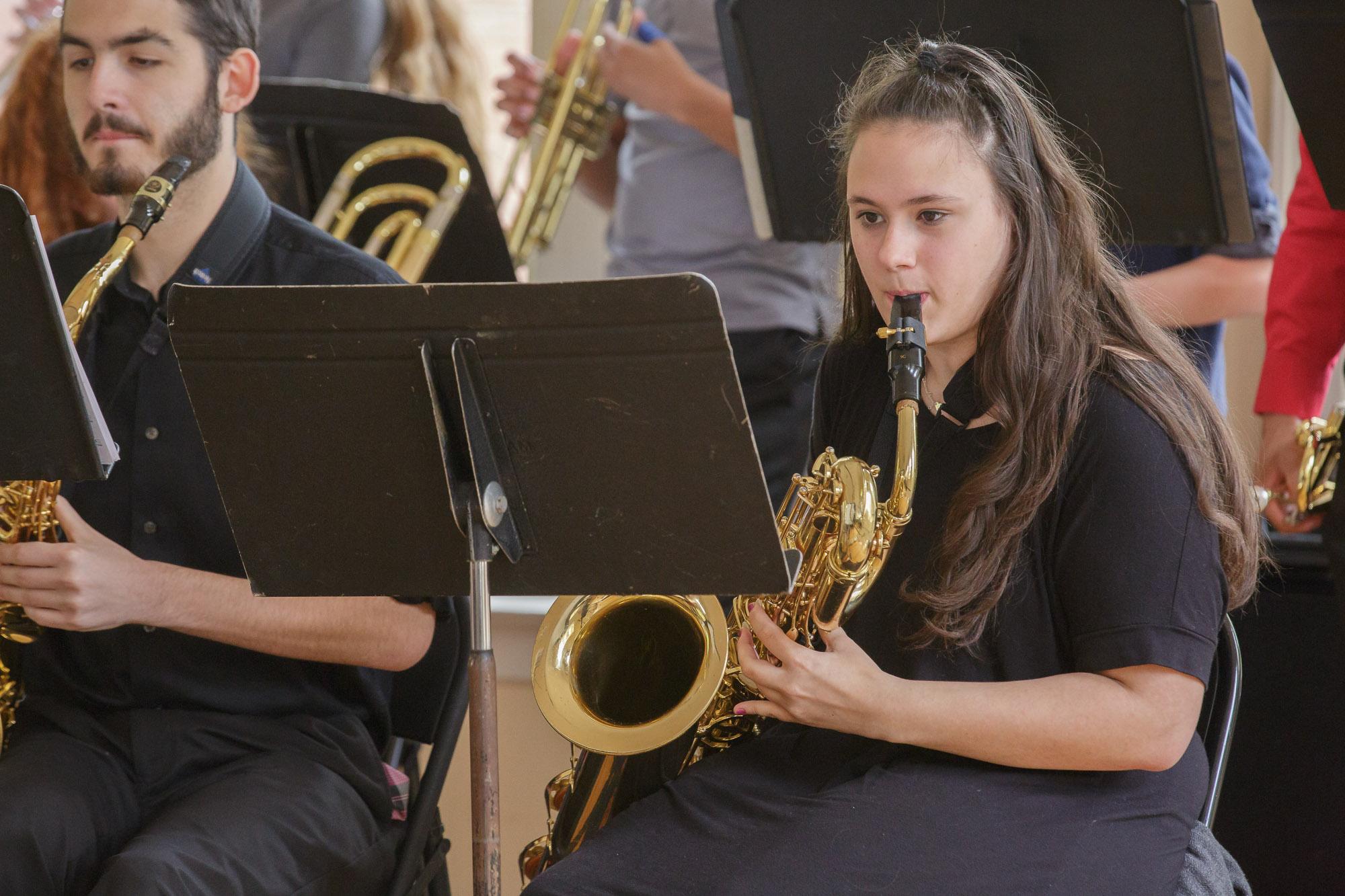 Salem High Jazz Band