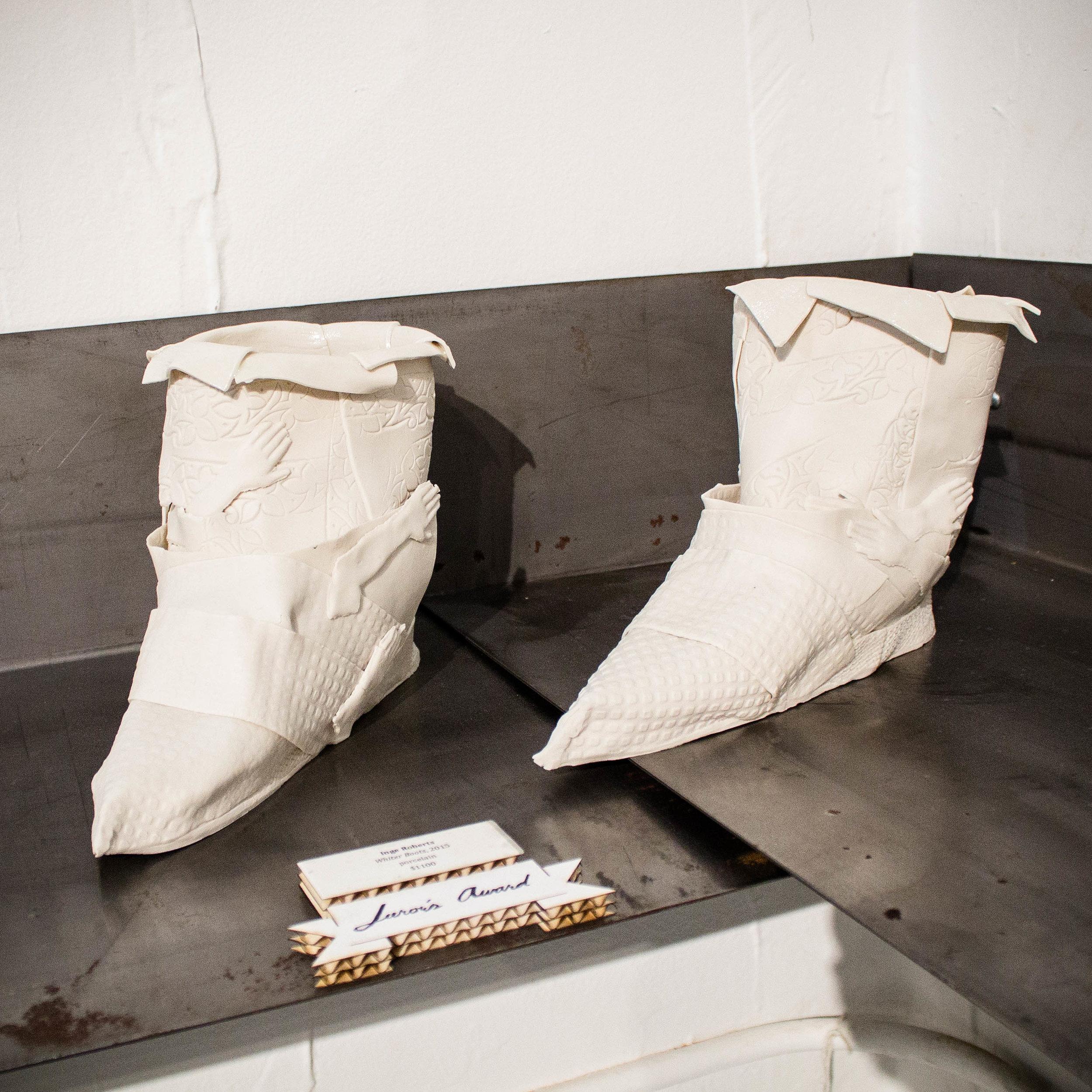 Inge Roberts, White Boots