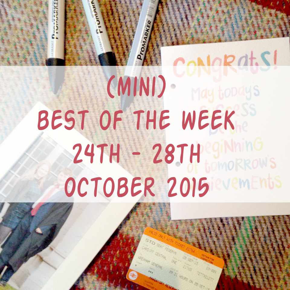 best of the week 28.10