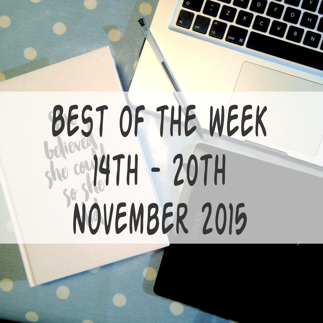 best of the week 20.11