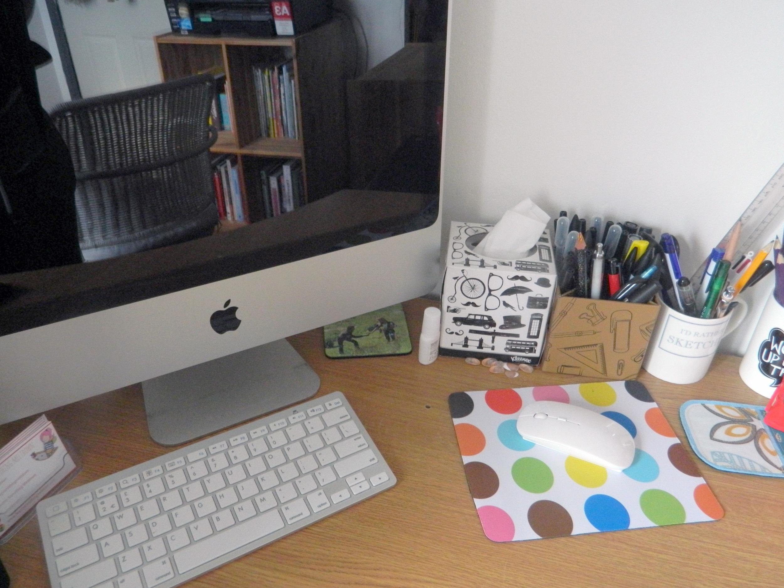 My desk/office.