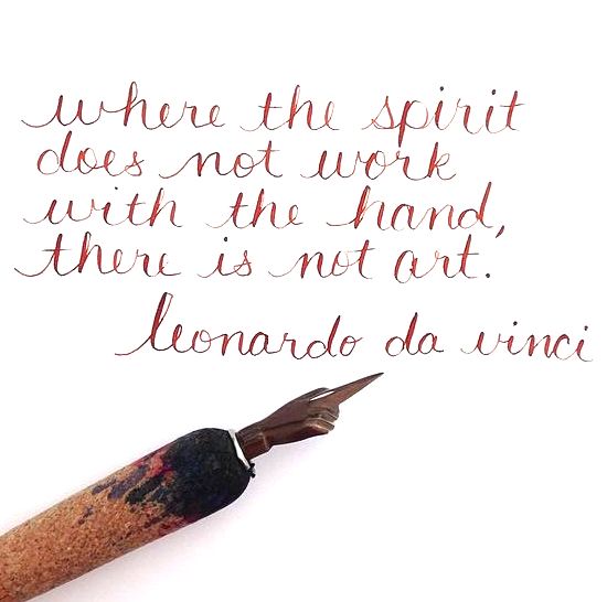 Da Vinci Quote from Pinterest.