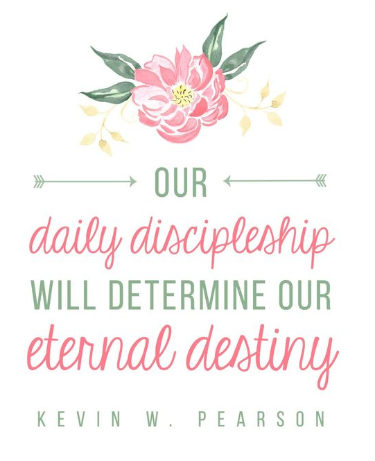 Daily Discipline Quote from Pinterest.