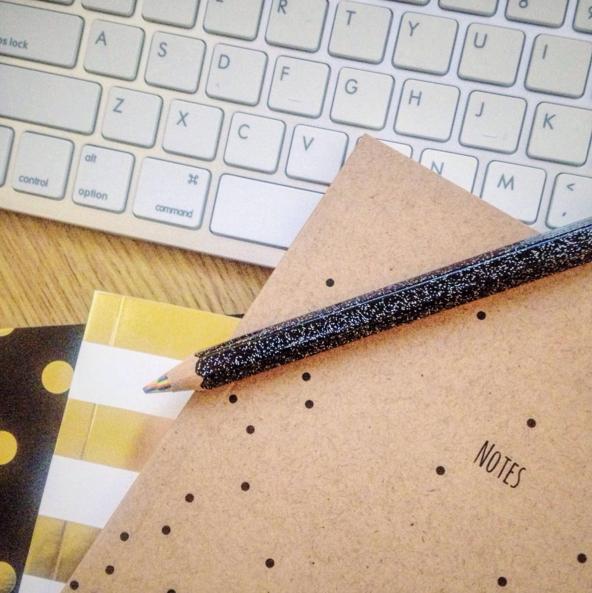 Matalan Notebook Stack flatlay.