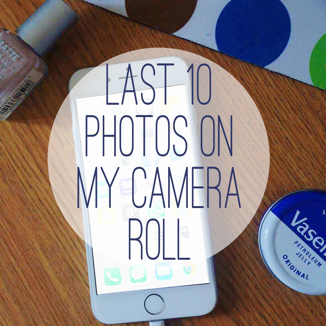 Last 10 Photos On My Camera Roll Promo Photo.