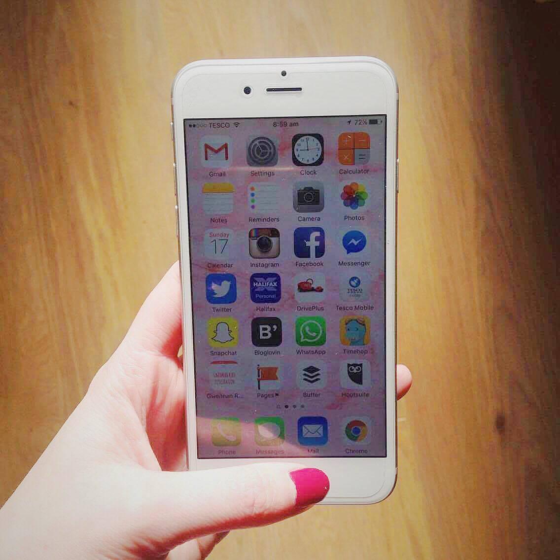 My new iPhone 6.