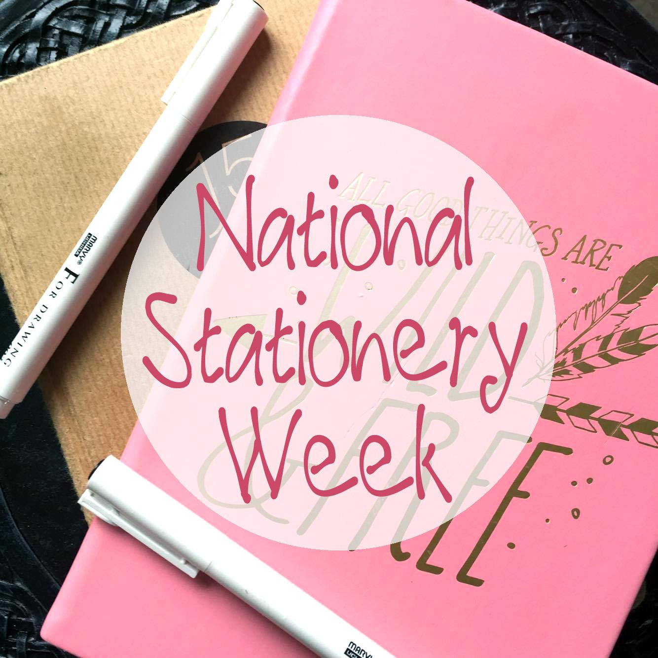 National Stationery Week Promo Photo.