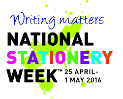 National Stationery Week 2016 Logo.