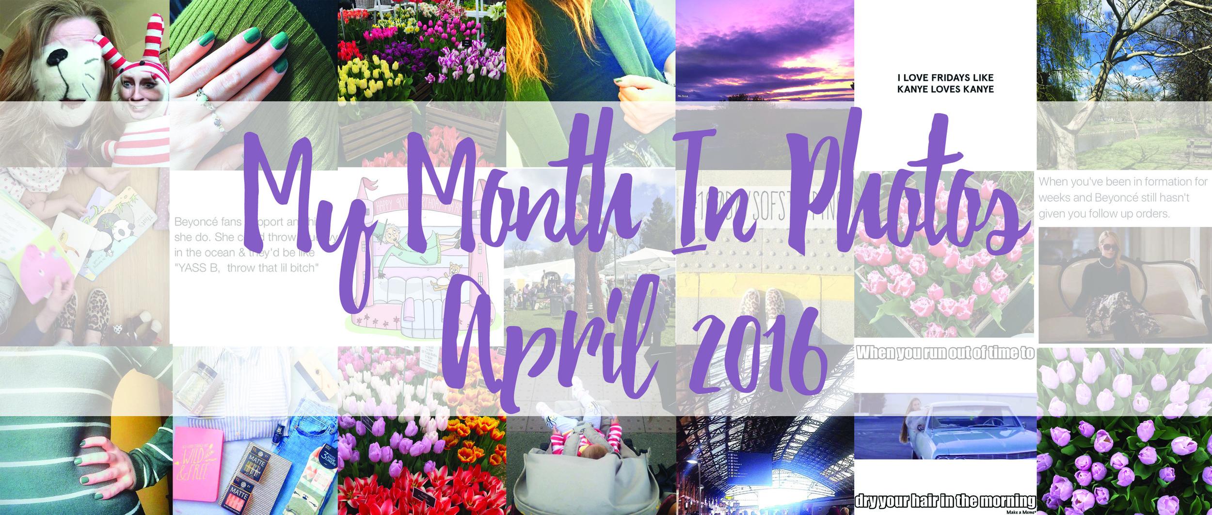 21 Photos of April 2016.