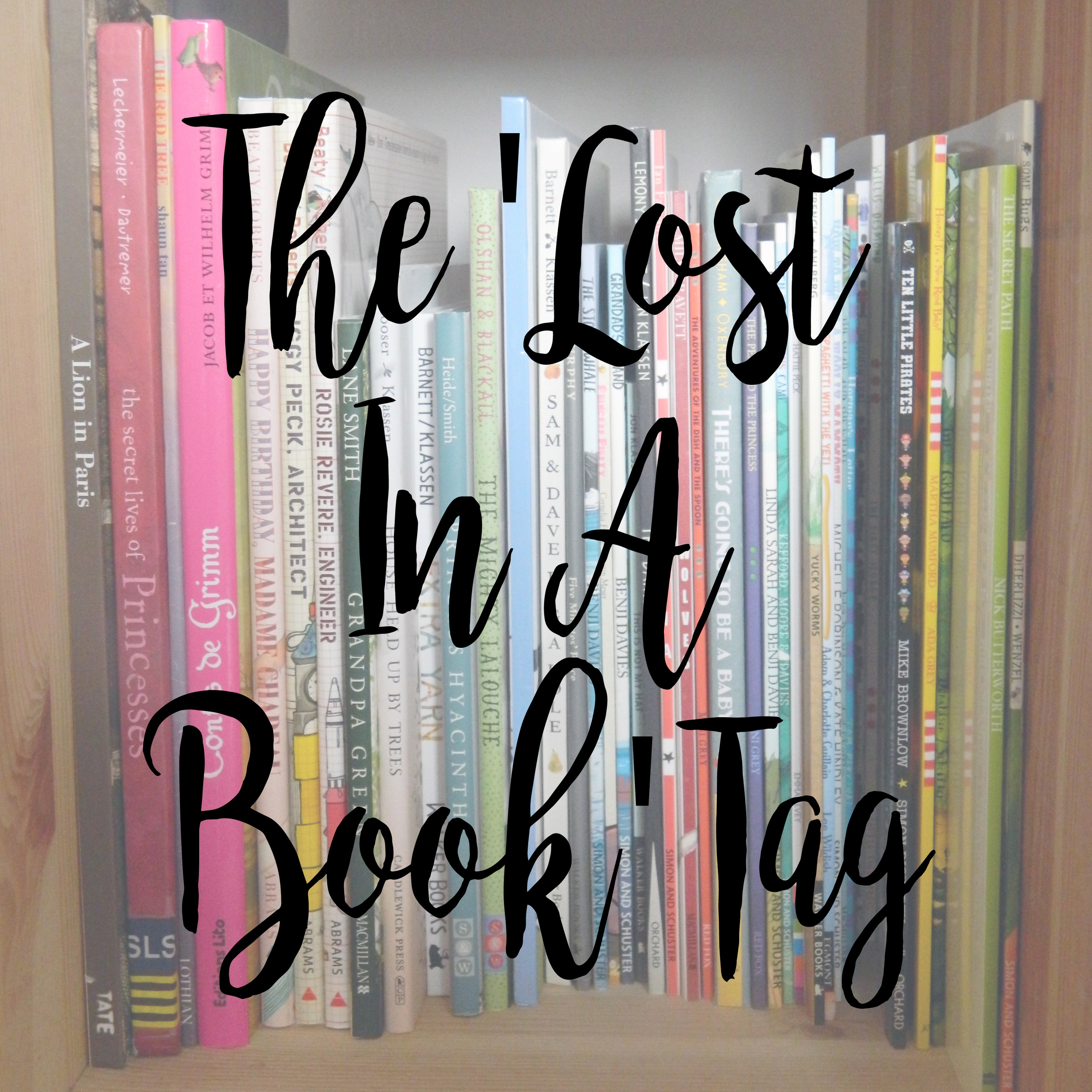 The 'Lost In A Book Tag' - nominated by Hailey Jade Ryan.