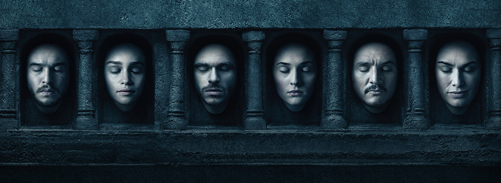 Game Of Thrones Season 6 promotional campaign.