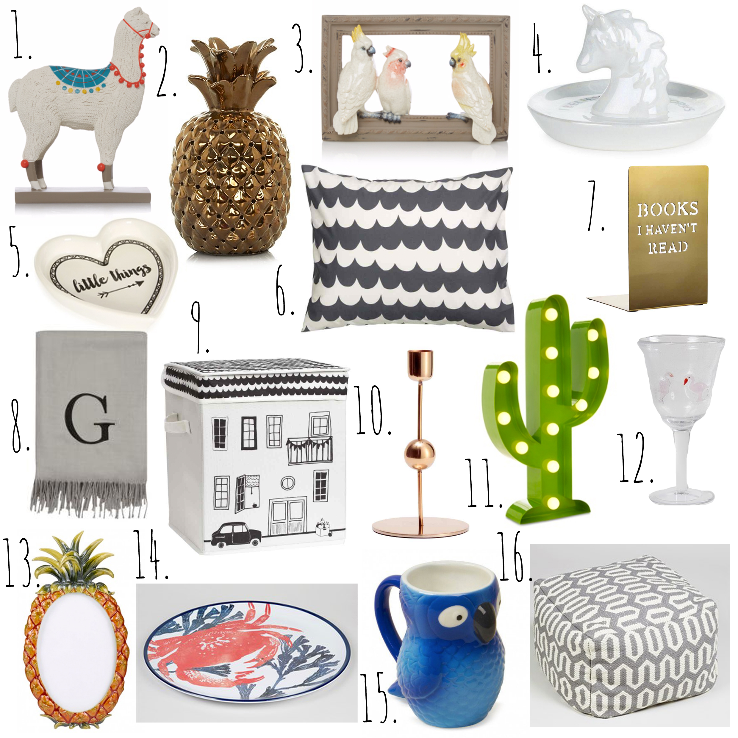 High Street Summer Homeware.