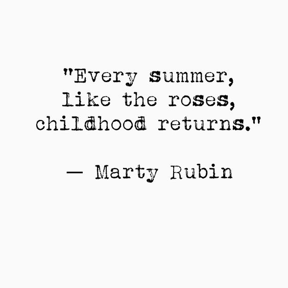 Every Summer Quote - pinned from here.