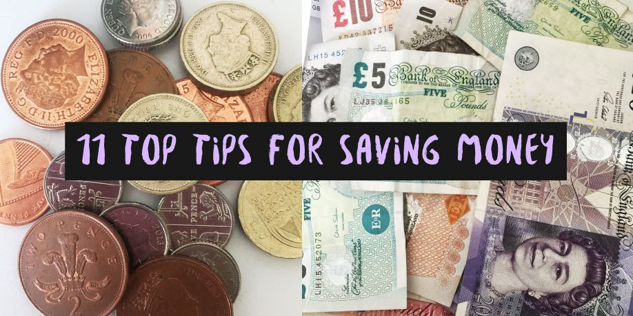My Top 11 Tips To Save Money first appeared on sparkleberryblog.com