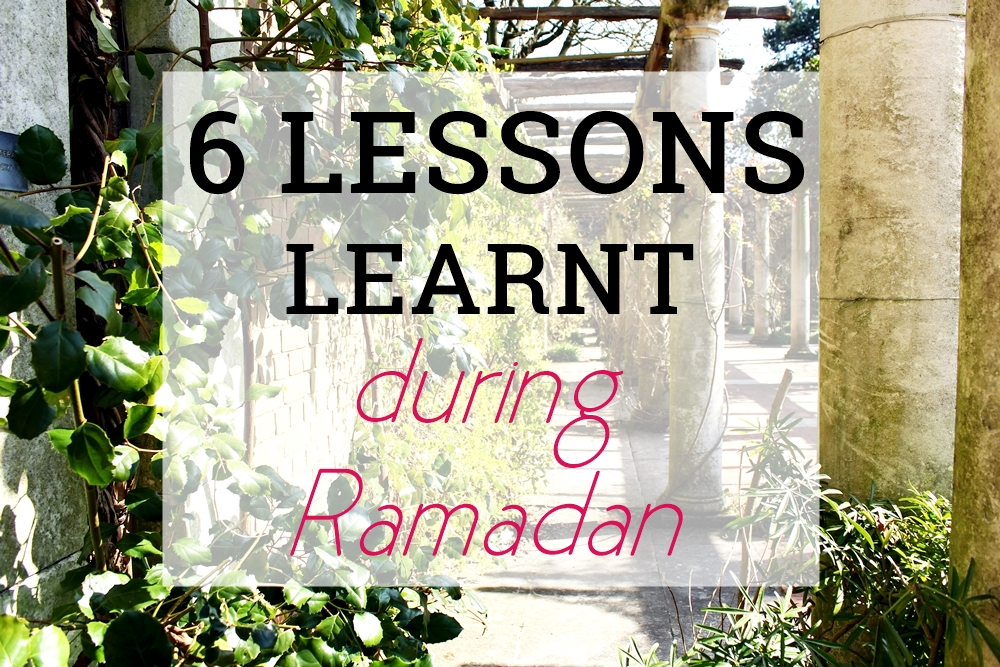6 Lessons Learnt During Ramadan first appeared on prettynotincluded.com