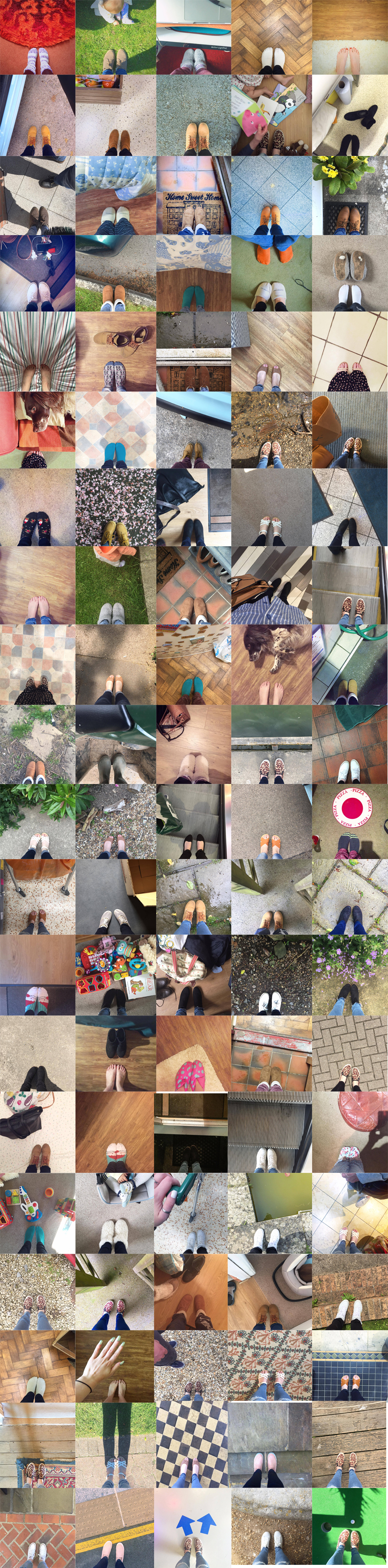 Follow #100DaysOfStepping on my Instagram here.