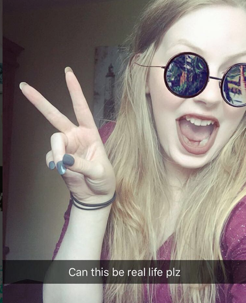 Follow me on Snapchat username gr20smeltdown