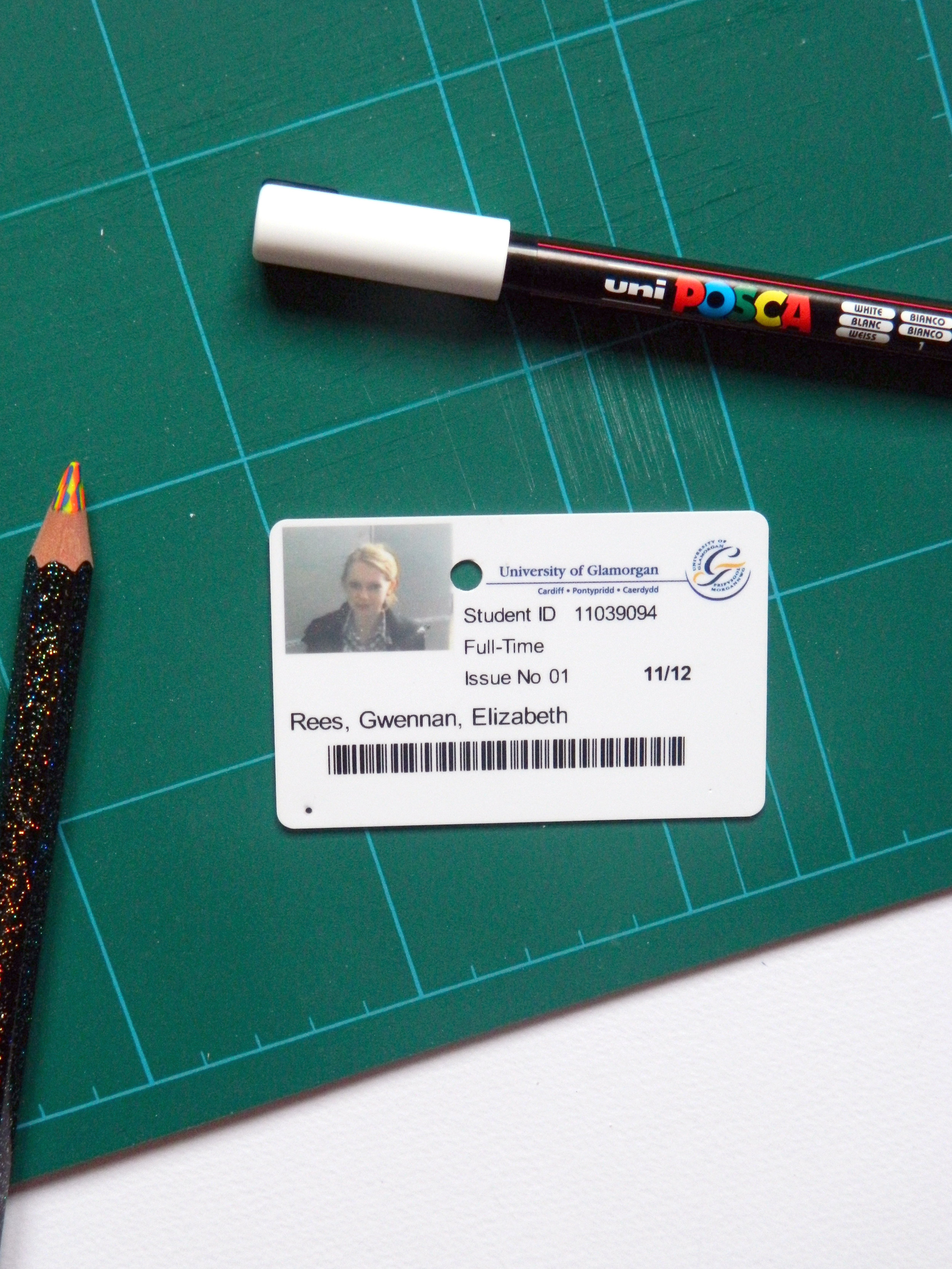One of them times when they take the photo for your student card there and then. Not good.