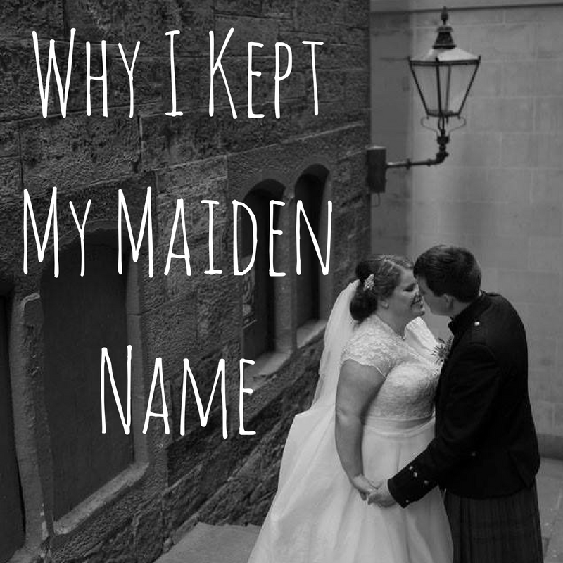 Why I kept my maiden name first appeared on Adventure & Anxiety.