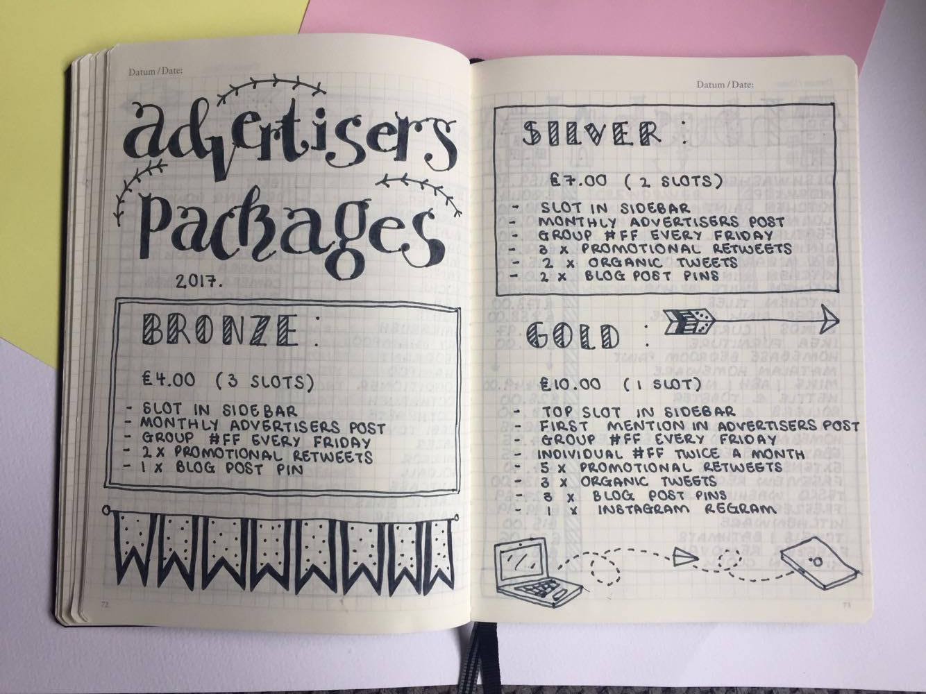 Advertisers Packages.