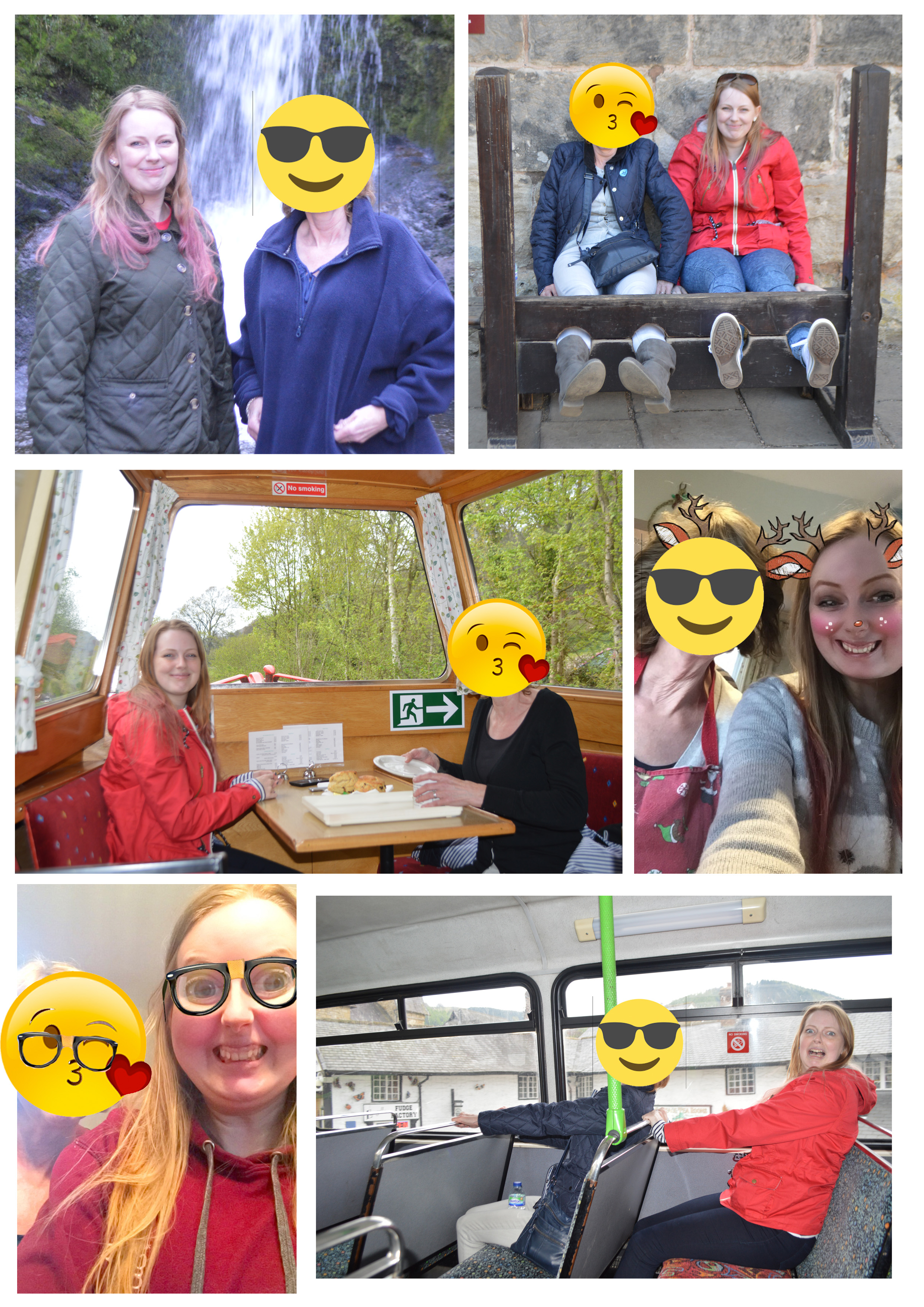 *FYI I don't  actually  have an emoji as a mother she just quite rightly doesn't want her photo all over my blog when she doesn't even have social media of her own.
