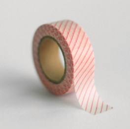 Melon Stripe Washi Tape