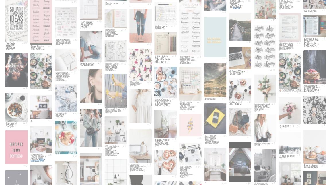 - My Pinterest Love Affair