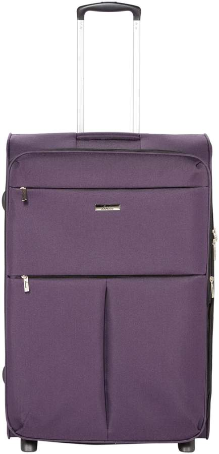 Purple Two Wheel Suitcase