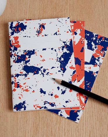 Set of three notebook