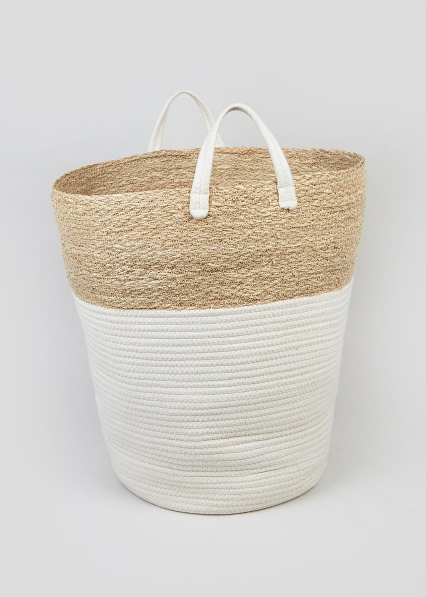 Rope Laundry Basket - £18.00 from Matalan