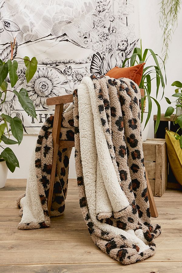 Leopard Print Throw - £40.00 from Urban Outfitters*