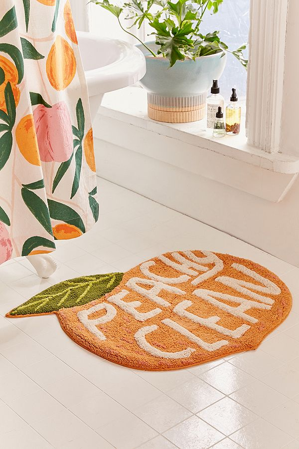 Peachy Clean Bath Mat - £29.00 from Urban Outfitters*
