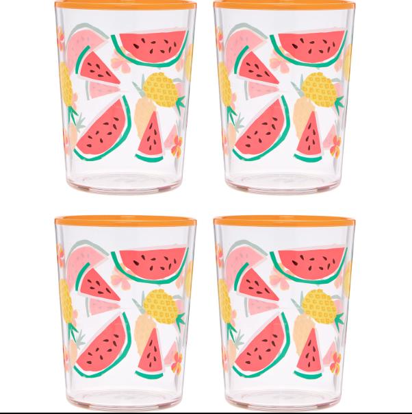 Watermelon tumblers - £5.00 TK Maxx