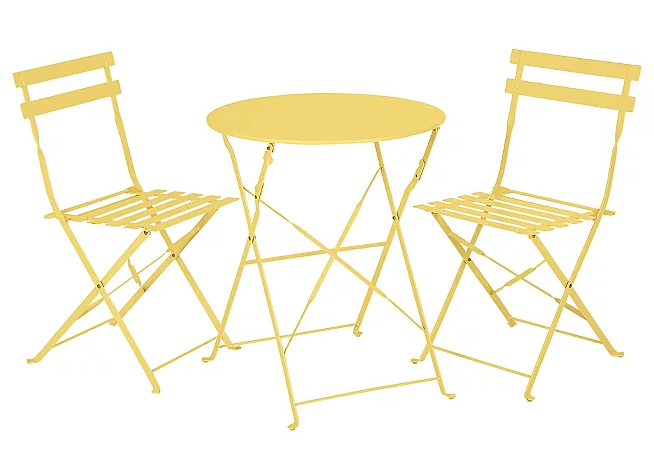Yellow bistro set - £49 George at Asda*