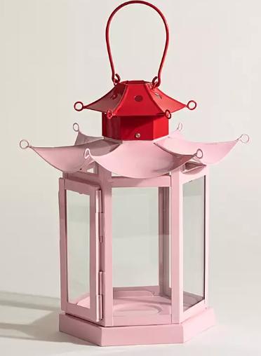 Pink & Red Lantern - £29 Oliver Bonas*