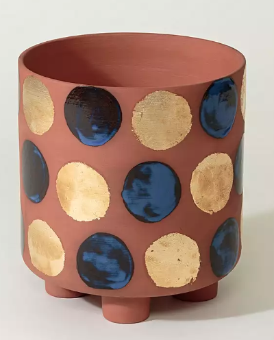Spotted terracotta pot - £30 Oliver Bonas*
