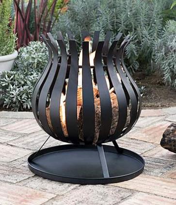 Bulb firebasket - £29 Dunelm
