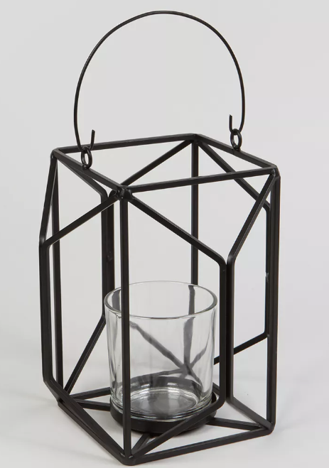 Metal tealight lantern - £8.00 Matalan