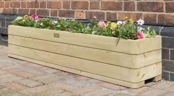Wooden planter box - £82.99 Wayfair