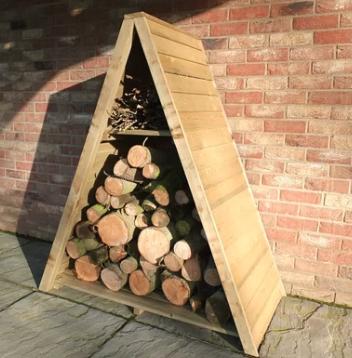 Wooden log store - £71.99 Wayfair