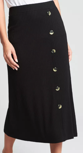 Button down midi skirt - £12.50 Matalan