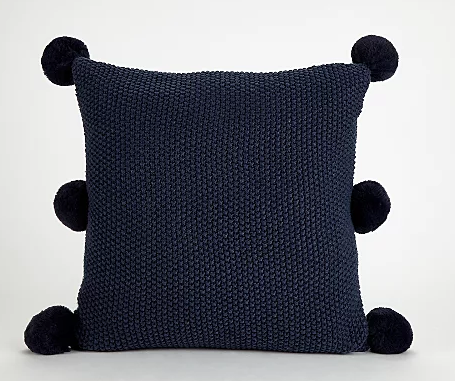Pom pom cushion - £10 Asda*
