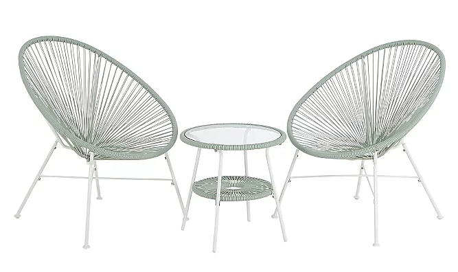 White bistro set - £89 George at Asda*