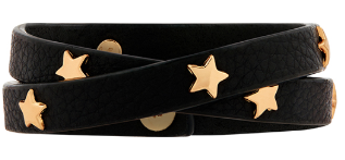 Star studded leather bracelet - £10 Accessorize
