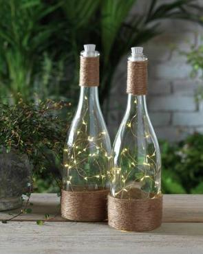 Table top bottle lanterns - £3.60 at Argos*