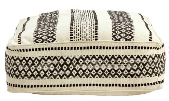 Large floor cushion - £10 from Argos